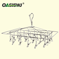 Metal Hanger,Clothing Hanger---S/S--24clips 16'x14'
