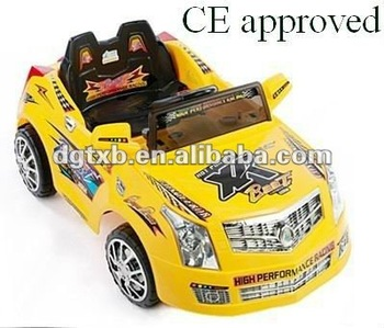 battery powered kids driving car with remote control