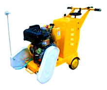 180mm Depth Gasoline Asphalt Road Cutter 600mm