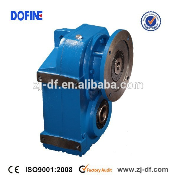 Industrial gears manufacturers Fseries parallel shaft helical gear motor