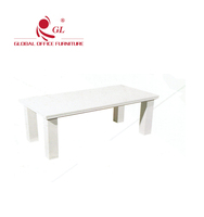 melamine mdf board modern coffee table