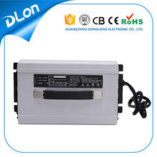 Guangzhou Dlon manufacturer supply 48v 25a battery charger for electric golf cart / tourism bus /coah/ truck / forklift