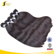 Double Drawn Brazilian Indigenous 5A Grade 100% Virgin Baby Hair Styles Pictures