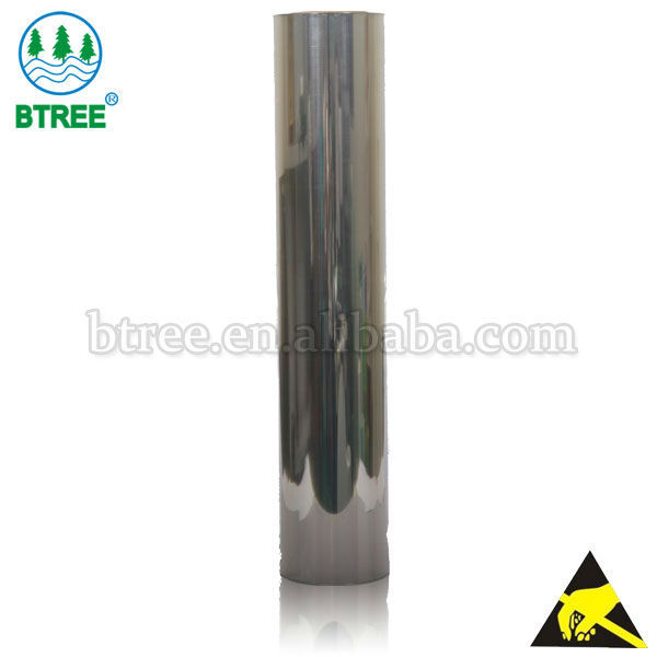 Btree Clear Antistatic Rubber Sheets In Roll Form