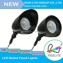 cUL meanwell driver LED Bullet Flood Lights LED landscape spot Lights fixture 10w outside wall light