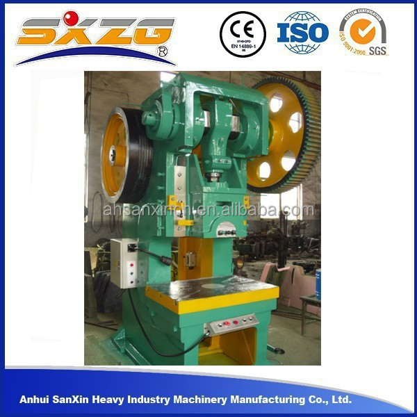10ton C frame manual pvc card punching machine price