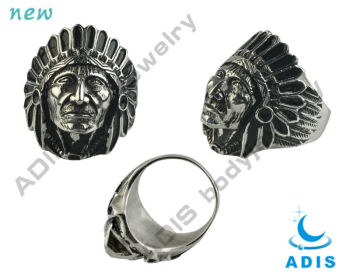 sphinx like fancy finger ring in body jewellry