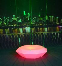 remote control multi color led portable beer cooler table