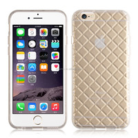 Sparkling Soft Transparent TPU Back Cover Case for Apple iPhone 6