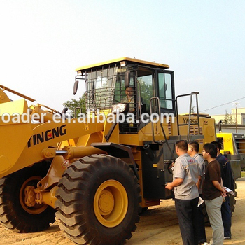2018 Chinese loader wheel loader with pallet fork made in china