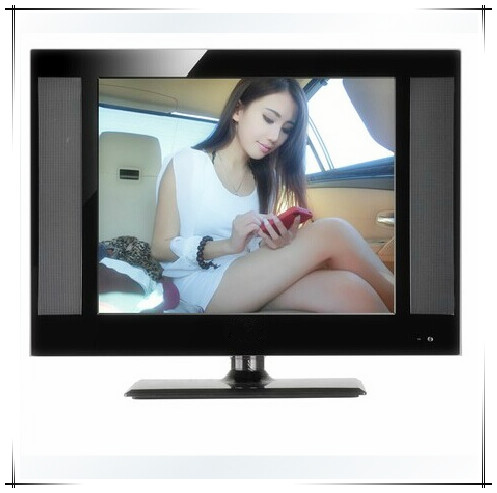 15 inch LCD TV with adapter or 12V DC power