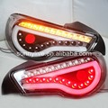 2013-2014 year TOYOTA GT86 FT86 LED Strip Rear Light Black bottom Clear lens SN