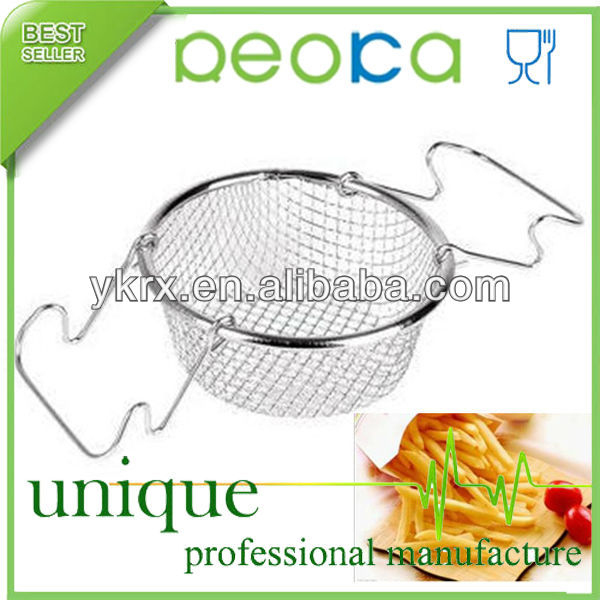 Stainless steel Family Mini fryer wire basket