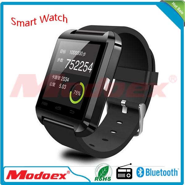 2016 promotion gift hebrew language u8 smart watch 1
