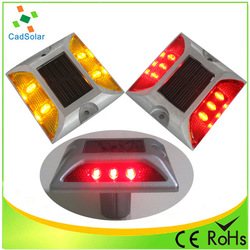 Hot selling wholesale china latest led solar cat eyes road stud with long service life