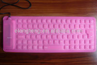 flexible silicone waterproof keyboard
