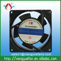 9225 big airflow ball bearing ac mini fan 220v ac cooler fan