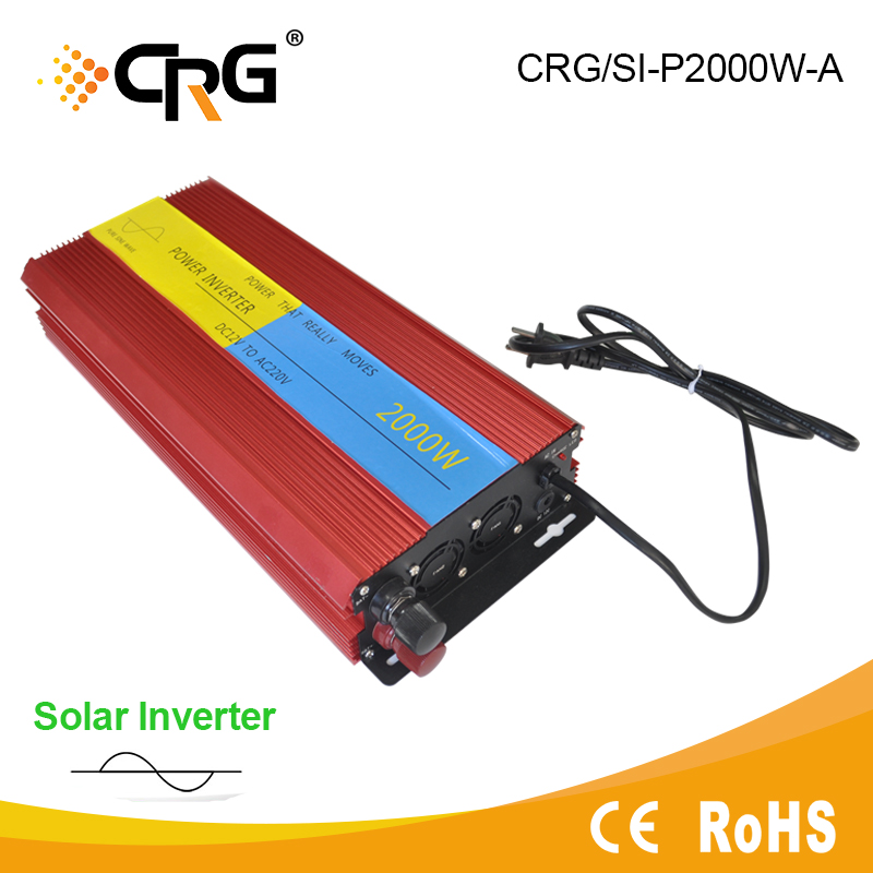 1000W High Frequency Off Grid DC to AC Solar Power Inverter 12V 220V