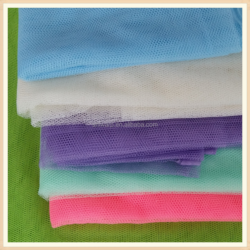 mosquito net fabric plain dyed fabric wedding dress material clothing fabric