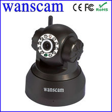 Dome Wanscam ip cameras Mini Robot Pan Tilt Network Remote Contorl Easy View by iPhone and Android p2p ip cam