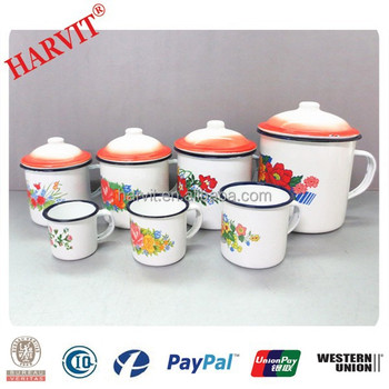 Custom Printing Enamel Mugs Wholesale