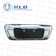 High quality auto body parts board chrome license with LED light for hiace