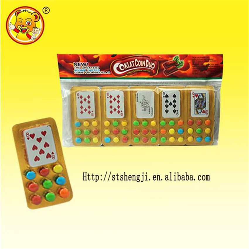 Malaysia playing cards chocolate