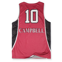 Pink basketball jersey uniform design, basketball jersey sublimation printed