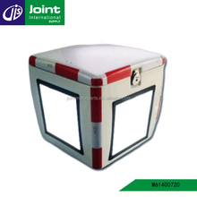 85L White Fiberglass Motorcycle Box Fiberglass Pizza Delivery Box