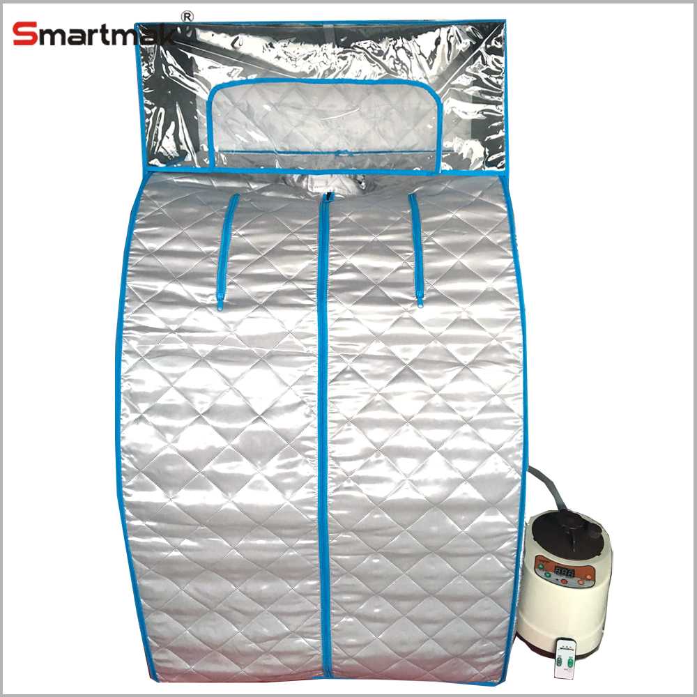 portable steam sauna with spa equipment