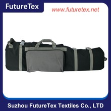 High quality nylon wheeled golf travel bag, wholesale golf bag with wheels