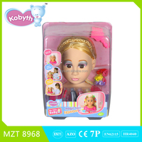 2015 New !Own Design High Quality PVC Doll+Makeup Setl Baby Toy
