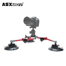 Hot mini camera tripod ball head mount with suction cup Fast Delivery