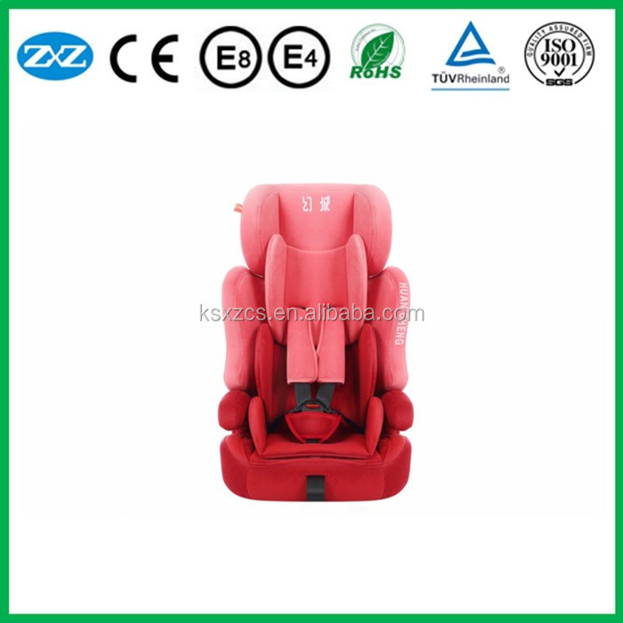 ECE certificate safety baby car seat professional manufacturer customized portable safety booster car seat