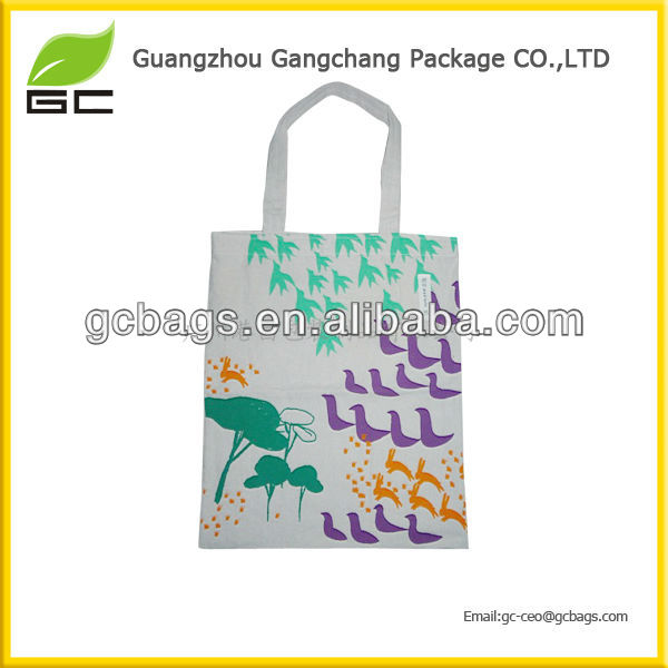 Fashion new design custom OEM/ODM cheap canvas cotton fabric hadle bag beach bag