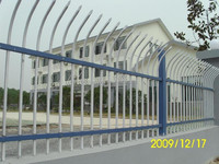 ISO factory high quality and low price steel palisade fence