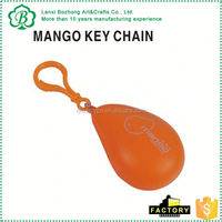 new arrival hot selling pu ball keychains for promotion