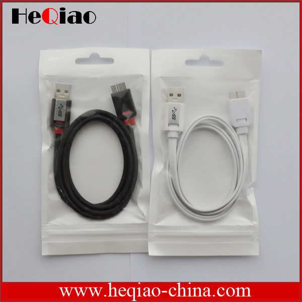 factory offer flat 3.0 USB cable type A male to type B male USB 3.0 cable
