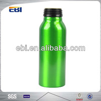 Apple juice aluminum novelty drink bottles with heat transfer printing