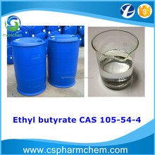 High purity Ethyl butyrate 99% CAS 105-54-4 perfume, fragrance, solvent extraction