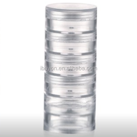 10ml PS material face cream jar(ZY03-A036)