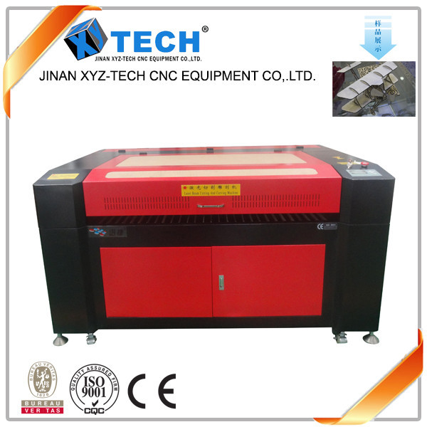 High precision 80w 130w cnc laser cutting machine 1390 for making wedding dress invitation card