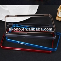 0.7mm metal bumper case for htc one m7,for htc one m7 custom case