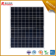 Chinese manufacturer black 60w solar panel