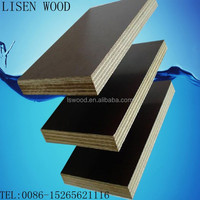 9mm 12mm 15mm 18mm marine plywood for concrete formwork / concrete form plywood / pp plastic shuttering plywood formwork