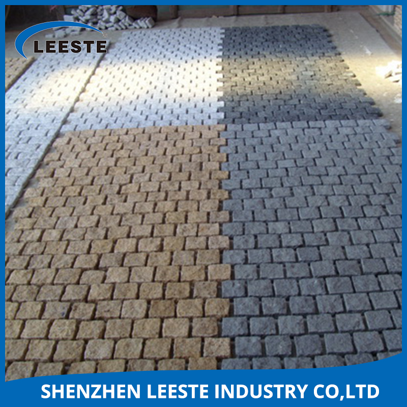 Mainly used in garden / yard / street / square etc granite stone cobble
