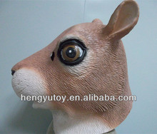 Funny Magical Animal Full Head Latex Squirrel Mask for Party Cosplay