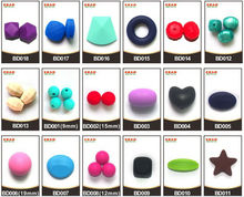 China Manufacturer Kean FDA Approved Various style Silicone Teething Beads
