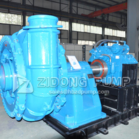 horizontal gold mining pump water sand pump river gold dredging pump