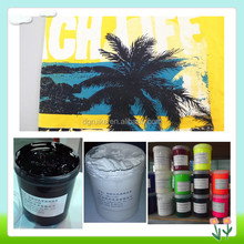 silk screen printing water based glue ink paste for t-shirt